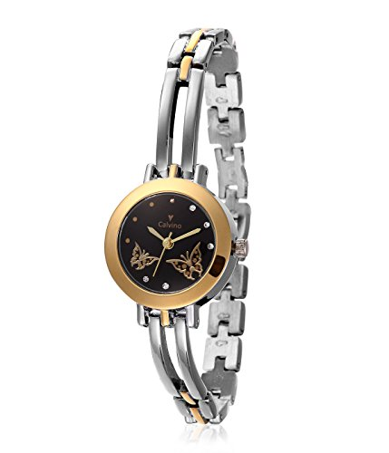 Calvino Calvino-Analog Black Color Watch 14205TT_BLACK (Multicolor)