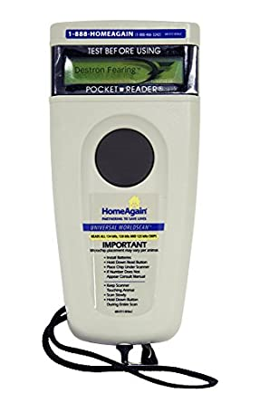 HomeAgain Universal Worldscan Microchip Reader