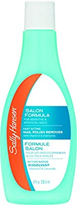 Sally Hansen Nail Polish Remover with Vitamin E and Chamomile, 8 Ounce