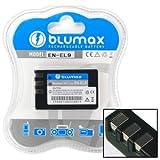 Blumax 7.4 V/1100 mAh Li-Ion Battery for Nikon EN-EL9/EN-EL9a/EN-EL9e fits D60/D40/D40x/D5000