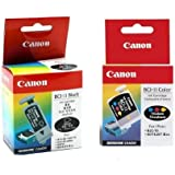 Canon BCI-11 Black and Color Ink Cartridges (Pack of 6)