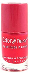 Neon Red Nail Lacquer