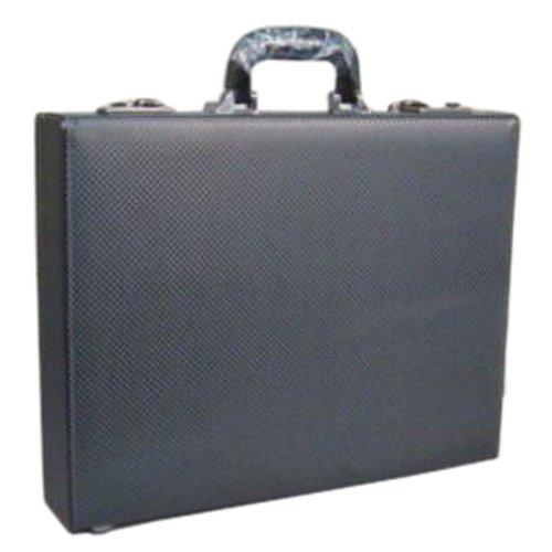 ガザ[GAZA]合成皮革製アタッシュケースAOL6254(ブラック)