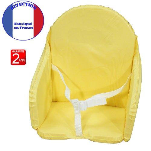 Baby-Sitzkissen-mit-gelben-Bnder-gelb