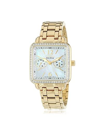 Citizen Women's FD1042-57D Eco-Drive Gold Tone Silhouette Crystal Watch
