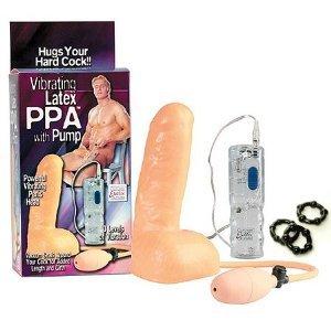 41Xe4sawvXL. SL500  California Exotics / Swedish Erotica Vibrating Latex PPA with Pump Adult Sex Toy Kit