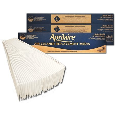 Aprilaire 401 Replacement Filter (Pack of 4)