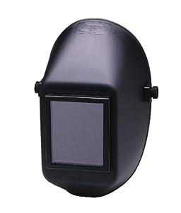 "Jackson Safety 14535 W10 951P Big Window Passive Welding Helmet, 5-1/4"" Length x 4"" Width, Black (Case of 4) from Kimberly-Clark Professional"