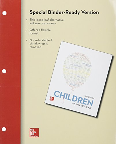 Loose Leaf Children with Connect Access Card