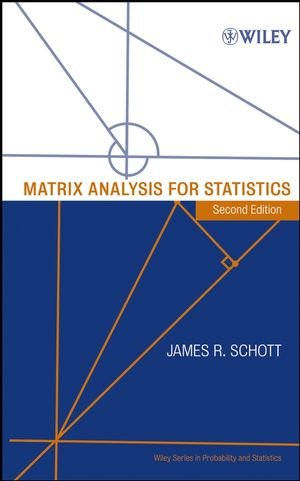 Matrix analysis for statistics
