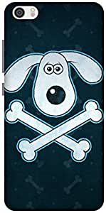 The Racoon Grip Dog and The bone hard plastic printed back case / cover for Xiaomi Mi 5