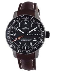 Fortis Men's 658.27.11 L.16 B-42 Official Cosmonaut Titanium Automatic Brown Leather Date Watch