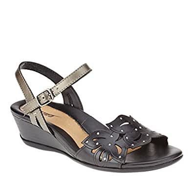 Amazon.com: Earth Women's Orchid Wedge Sandal: Shoes