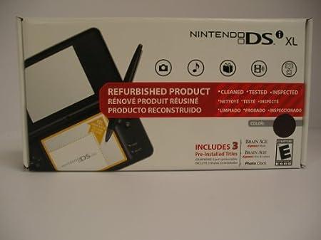 Nintendo DSi XL Midnight Blue Factory Recertified