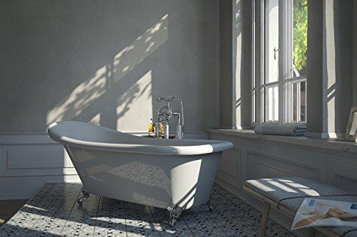 bad11 freistehende badewanne emilia in 170 cm aus. Black Bedroom Furniture Sets. Home Design Ideas