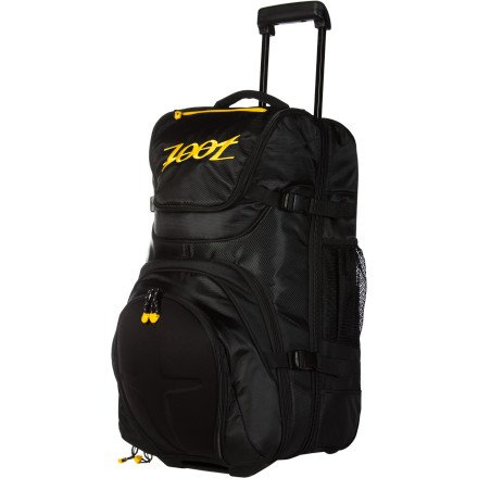 Zoot Sports Ultra Tri Carry On Bag (Black-Yellow, One Size)