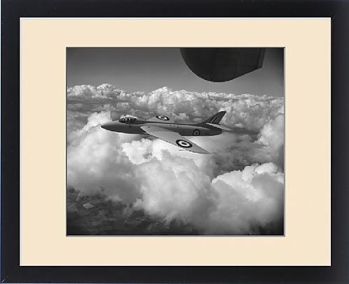 framed-print-of-hawker-hunter-prototype-wb188