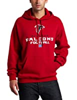 NFL Men's Atlanta Falcons Critical Victory V Long Sleeve Hooded Fleece Pullover from NFL