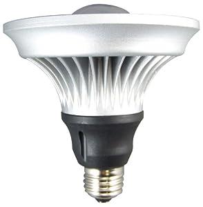 Lights of America 2113DLEDP38-LF4-8FR 11-Watt Power LED Dimmable Par38 Bulb, Bright White
