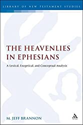 The Heavenlies in Ephesians: A Lexical, Exegetical, and Conceptual Analysis (Library Of New Testament Studies)