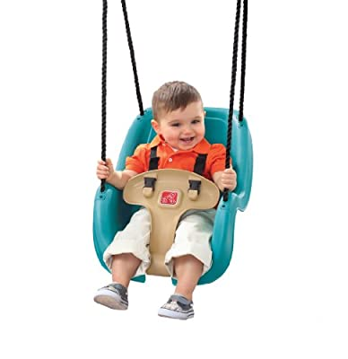 Step2 Infant to Toddler Swing 1-Pack (Turquoise) by Step2