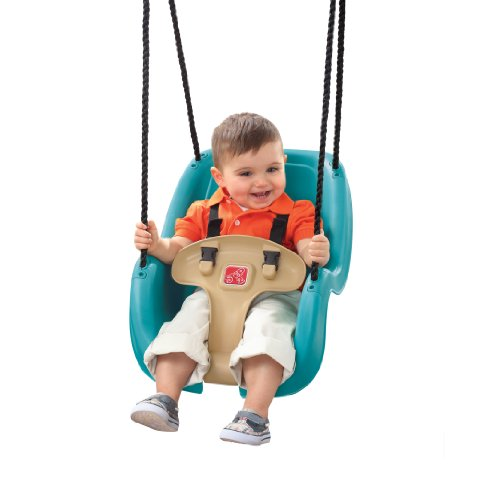 Lowest Prices! Step2 Infant to Toddler Swing 1-Pack (Turquoise)
