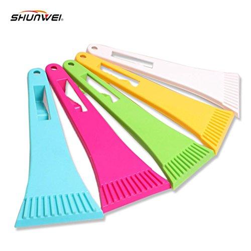 Iuhan Fashion 1PC Car vehicle Snow Ice Scraper SnoBroom Snowbrush Shovel Removal Brush Winter (Cone Brush compare prices)