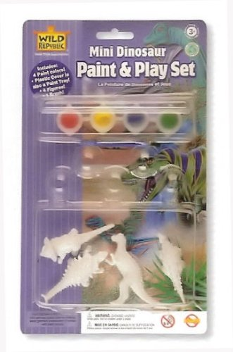 Wild Republic Mini Paint Dino [Toy] [Toy]