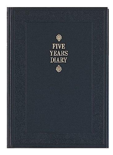 D304 has 5 years diary A5 horizontal writing date display Apika