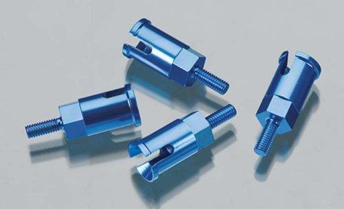 Dromida Aluminum Axle Set Blue BX MT SC 4.18 (4) DIDC1102 - 1