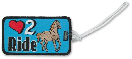 Katz Bag Tag Riding
