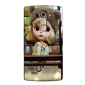 CUTE DOLL BACK COVER FOR LG G4