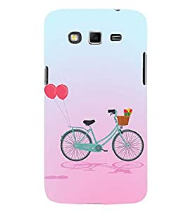 Clipart Bicycle Design 3D Hard Polycarbonate Designer Back Case Cover for Samsung Galaxy Grand Neo :: Samsung Galaxy Grand Neo i9060