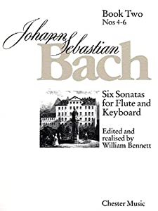 Js Bach Six Sonatas For Flute And Keyboard Book Two Nos 4-6 by Chester Music