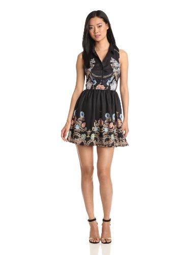 Bardot Women's Chain Reaction Dress, Multi, Small