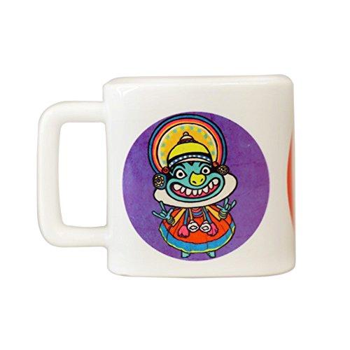 Chumbak Bobble Head Square Mug