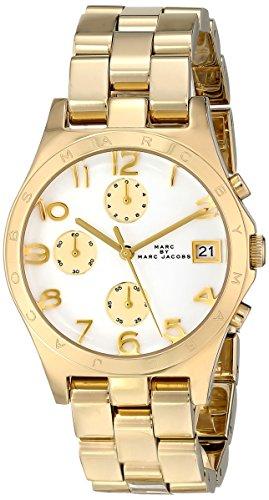 Marc Jacobs Henry Quartz Gold Tone Bracelet Women's Watch - MBM3039