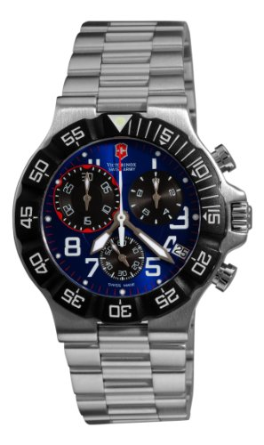 Victorinox Swiss Army Men&#8217;s 241407 Summit Blue Dial Watch