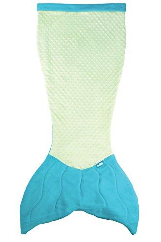 Fin Fun Polyester Mermaid Tail Blanket