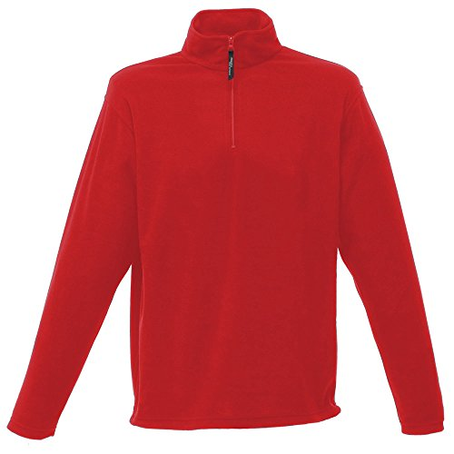 Regatta mens Regatta Mens Micro Zip Neck half Zip Fleece Jacket M,L,XL,2XL,3XL,4XL