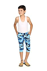 Clifton Boys Slim Fit Capri - Light Blue - X-Large (10-11 Years)