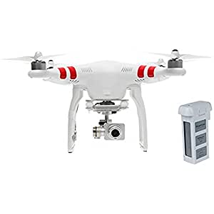 "DJI Phantom 2 Vision+ ""V1.0"" Quadcopter with FPV HD Video Camera and 3-Axis Gimbal Bundle with Extra Battery"