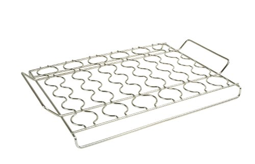 Steven Raichlen Best Of Barbecue Stainless Steel Seafood Grilling Rack