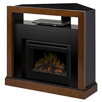 Dimplex Tanner Electric Fireplace & Entertainment Center - Log Set (GDS25-5309WN)