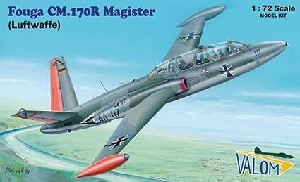 Valom 72084 Fouga Magister CM170 (Luftwaffe) 1:72 Plastic Kit Maquette