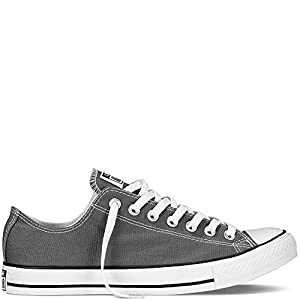 Converse Men's All Star Chuck Taylor Lo Top Oxfords Charcoal 7.5 B(M) US Women / 5.5 D(M) US Men