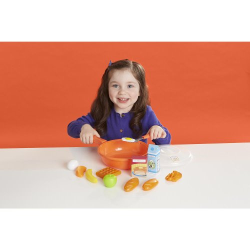 Just Like Home Frying Pan Playset - Orange
