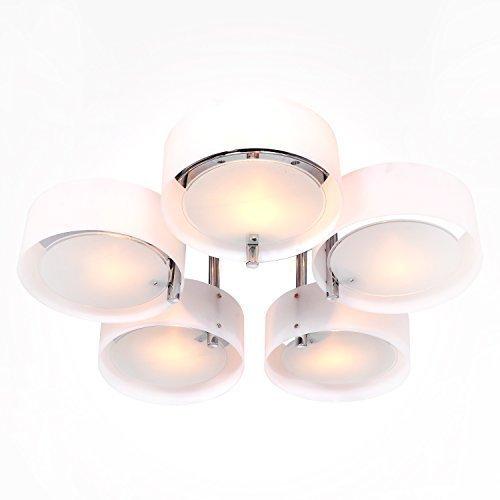 lightintheboxr-terminer-moderne-chrome-contemporain-lustre-eclairage-de-plafond-avec-5-lumieres