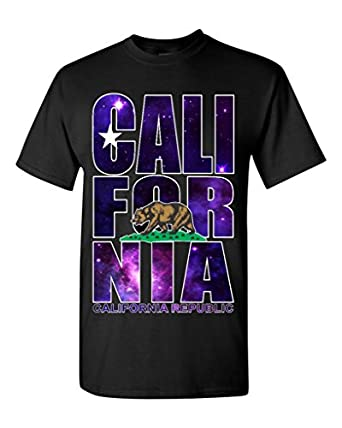 california republic galaxy t shirt clothing