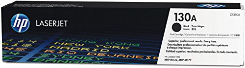 HP 130A (CF350A) Black Original LaserJet Toner Cartridge